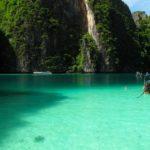 Pileh lagoon, Phi Phi Ley island