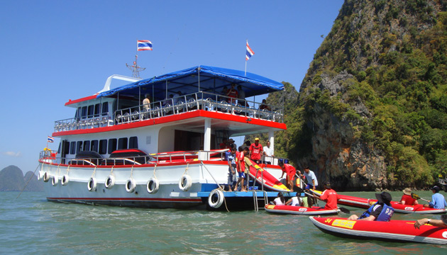 phang nga bay tour by mini cruise