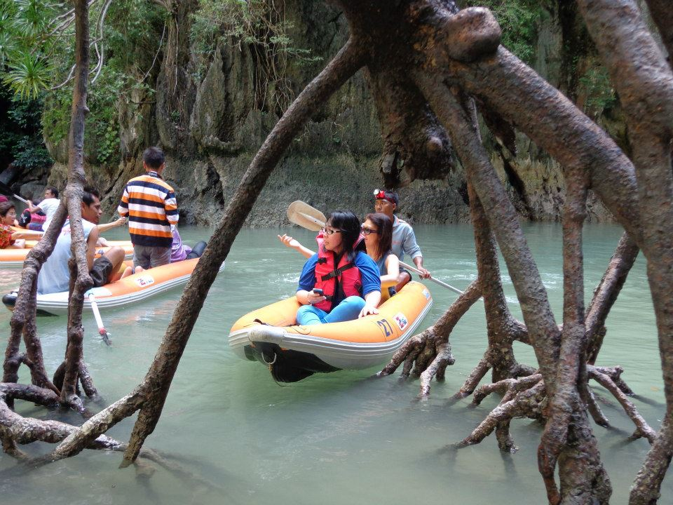 james bond island canoeing tour