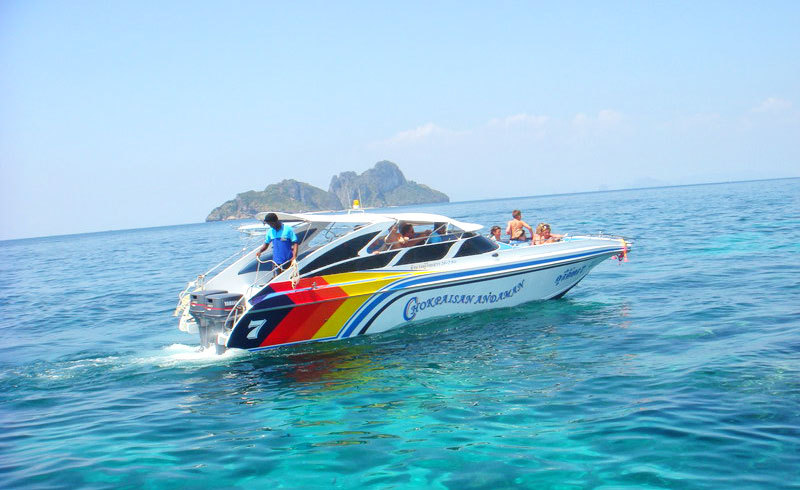 krabi 4 islands tour by speedboat