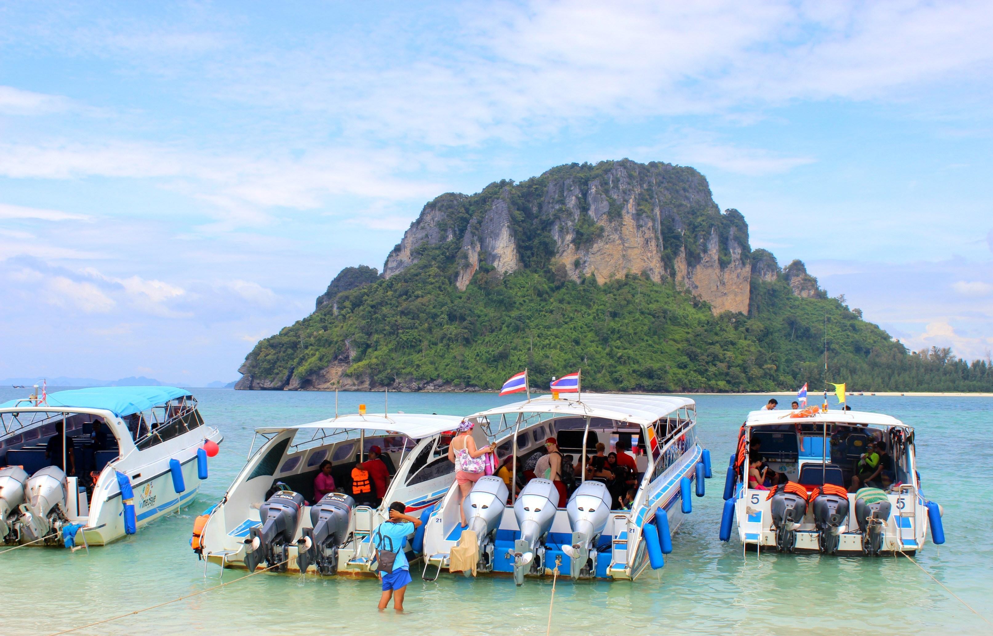 krabi 4 islands tour by speedboat