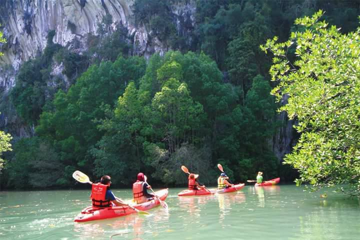 krabi kayaking tour
