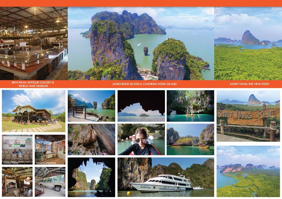 phang nga bay tour by cruise