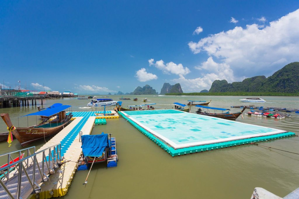 Muslim floating village