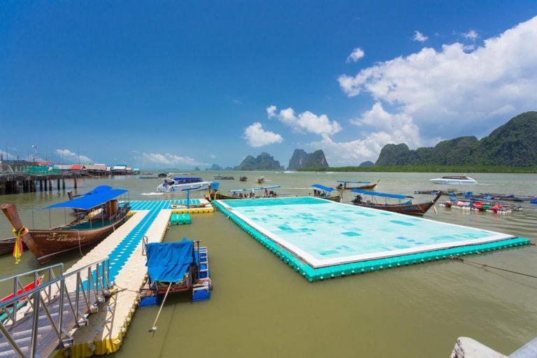 Muslim floating village