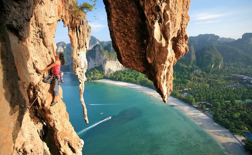 krabi rock climbing