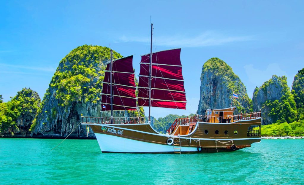krabi sunset dinner cruise